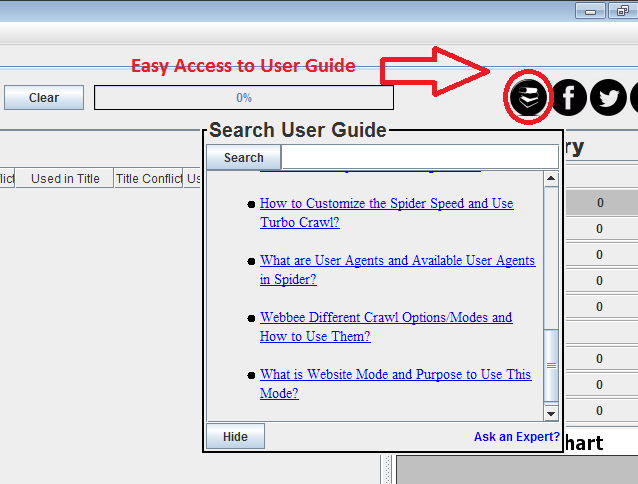 user guide access