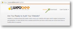 download webbee seo spider