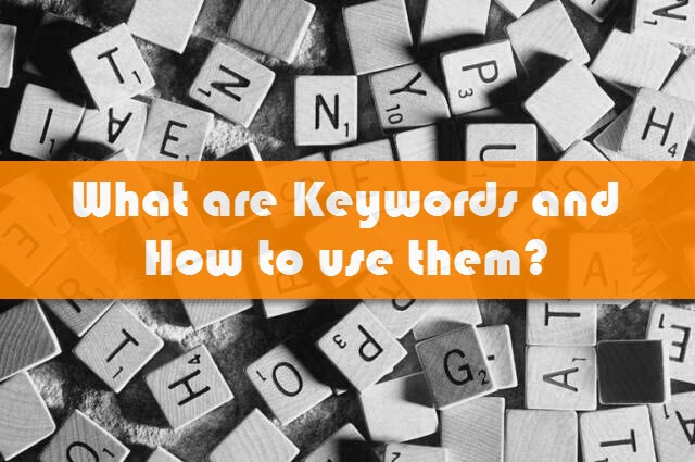 how to add seo keywords in website