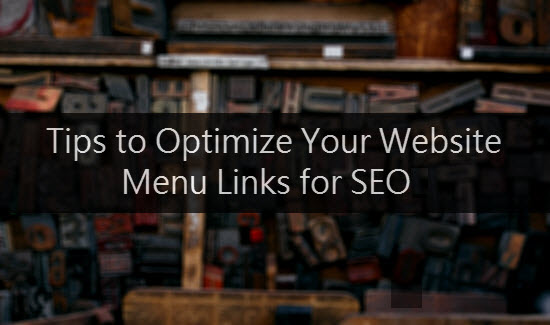 SEO Menu Links