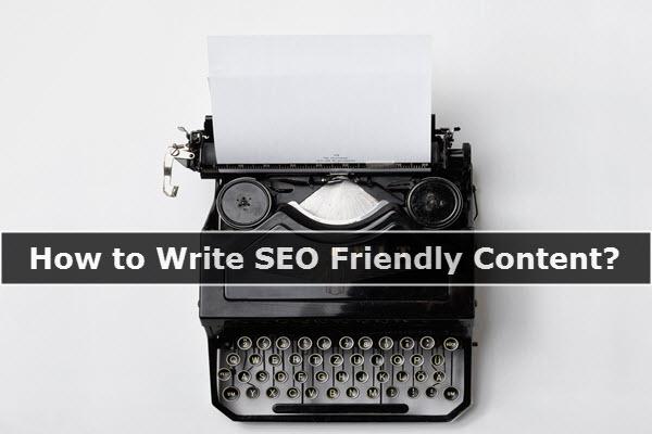 Write SEO Content