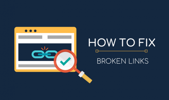 Find and Fix Broken Links