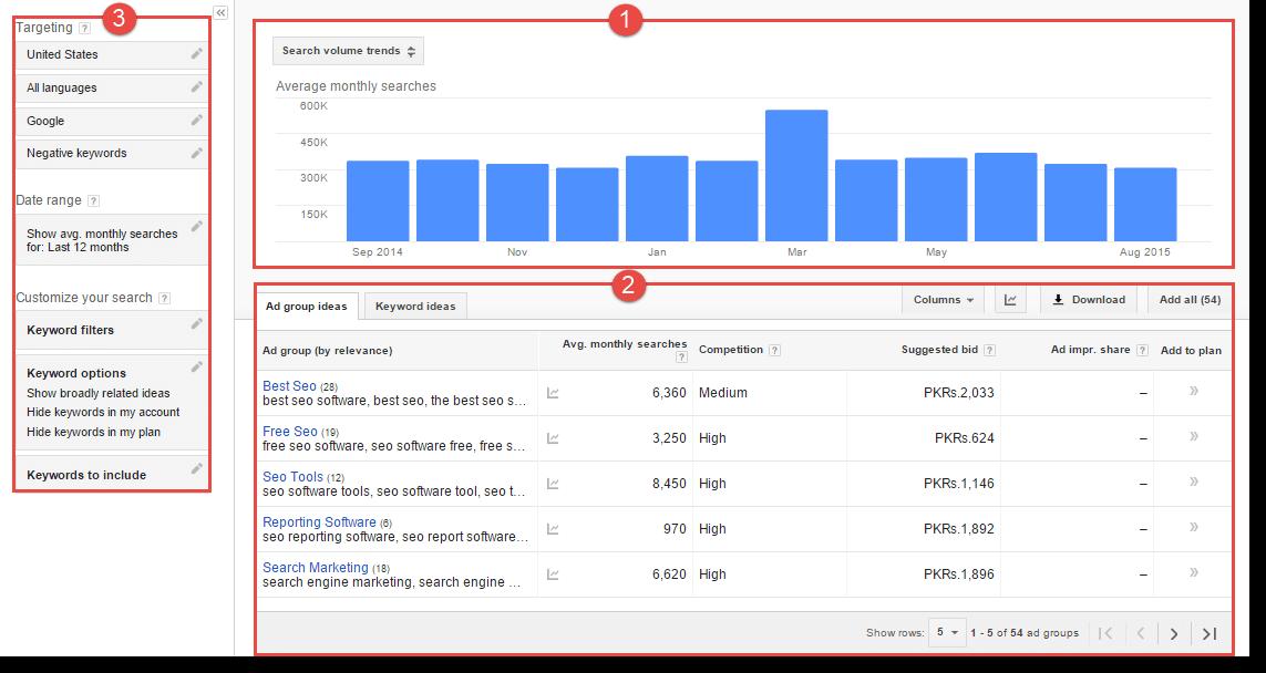 google-keyword-planner-result-page-1