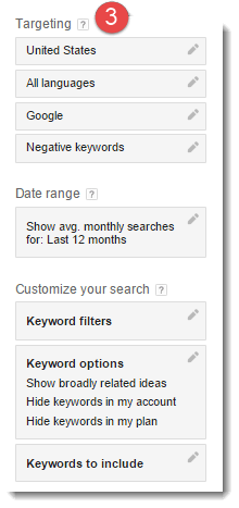 keyword-planner-customization