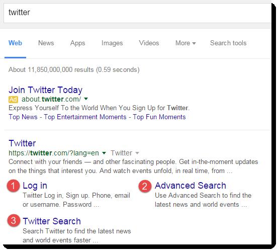 google-3-sitelinks